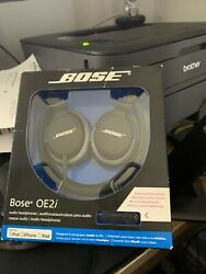 Brand New Sealed Bose Oe2i Audio Headphones Remote And Microphone - Ships Asap
