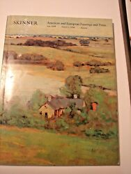 Skinner American European Paintings Prints March 1 1996 1698 Boston catalog