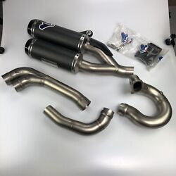 Ducati Monster Termignoni Complete Exhaust Kit With Carbon Silencers 96480301a