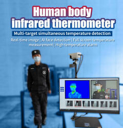 Human Body Infrared Thermometer Face Use Mask Detection Airport Or Crowd Areas