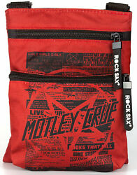 Rock Sax Motley Crue Girls Live Cross Shoulder Body Bag $26.12
