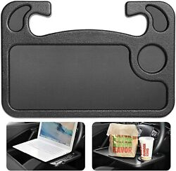 Car Steering Wheel Tray Desk Two Sided For Laptop Drink Food Work Table Holder