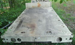 Mtv Military Truck Flat Bed Stake Body 14and039 2 Long 94-1/2 Wide 34-1/2 Frame...