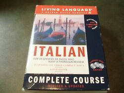 NEW Complete Basic Courses: Italian For Beginners: 40 Lessons on 3 Compact Discs $9.95