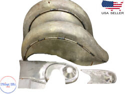 Fit For Indian Chief Front And Rear Raw Fender / Mudguards And Chain Guard Post