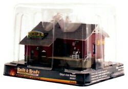 N Scale Woodland Scenics Br4927 Just Plug Built-and-ready Chip's Ice House