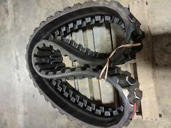 Single Summit Used 16.5 Rubber Track - Fits Takeuchi   Free Shipping 420x100x50