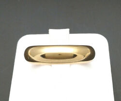 Engagement Ring Faith Yellow Gold 18 CT Gr. 990 Size 12 From GIOIELLERIA AMADIO