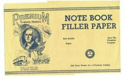 Note Book Filler Paper Band Wrapper Premium School Series George Washington 50and039s