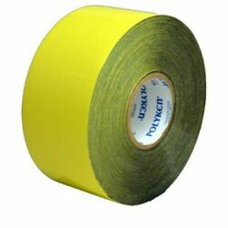 Polyken 826 Yellow Corrosion Protection Tape - 4in Width X 100ft X 12mil - Fa...