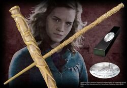 Harry Potter Hermione Granger Wand Collectable Movie Replica W/ Box And Name Clip