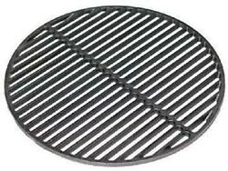Bbq Grill Cast Iron Dual Side Round Cooking Grid Grate 18 For Kamado Grills