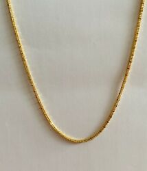 22k Gold Necklace Chain