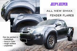 Off-road For Isuzu D-max Dmax Fender Flares Wheel Arch 2012 2013 2014 2015