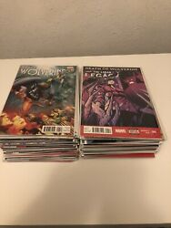 Death Of Wolverine Comic Book Lot 70 Comics Total All In Nm Condition