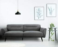 Contemporary Hand Crafted Fabric Sofa Living Room Furniture Erin Sofa