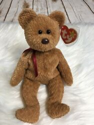 Ty Curly The Bear Rare Beanie Baby Vintage Collectors Plush Nwt Toy Mult. Errors