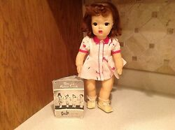 Vintage Terri Lee In Town Dress Doll 16 W/ Booklet Vguc 520a Intact Red Head