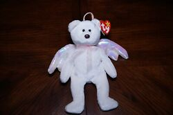Ty Beanie Baby Vintage 1998 Halo Retired Near Mint Errors With Tags Brown Nose