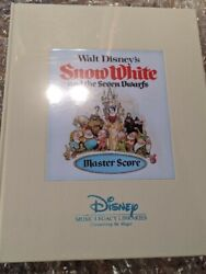 Walt Disneyand039s Snow White And The Seven Dwarfs Master Score Limited To 400andnbsp
