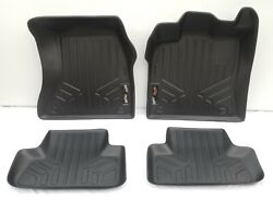 2009-2017 Audi Q5 / Sq5 Maxliner Weather Rubber Floor Mats Front And Rear 2nd Row