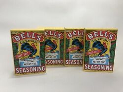 4 X BELL#x27;S All Natural Salt Free Poultry Turkey Seasoning 1oz Ea. EXP 08 2021