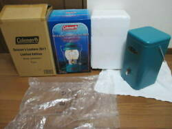 With Outer Box Limited Edition 2011 Coral Blue Coleman Seasons Lantern