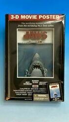 Super Rare / Yet Released In Japan Mcfarlane Jaws 3d Stereo Poster Made 2006