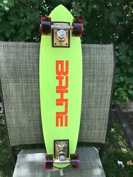 Bahne Skateboard/cadillac Wheels 1970's Vintage, 27 L And 6.75 W Gently Used