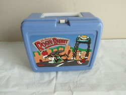 Vintage Rare 1987 Aladdin Who Framed Roger Rabbit Blue Lunchbox Only No Thermos