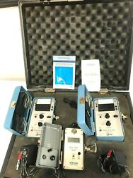 Wilcom T339 Optical Level Meter Wit Two 836a Test Set Receiver Greet Kit