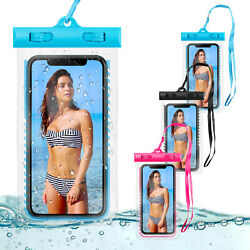 Waterproof Bag Phone Underwater Pouch Dry Swimming Diving Floating Case Cover $8.59