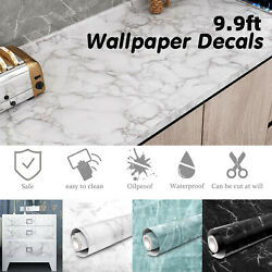 Marble Contact Paper Self Adhesive Wallpaper Pvc Peel And Stick Sticker Kitchen Us