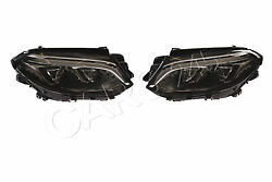 Headlight Pair Led For Mercedes Gle C292 W166 A1668200859 A1668200759