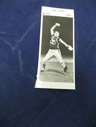 Eddie Feigner The King And Court Baseball Pitching Vintage Glossy Press Photo