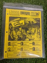 The Simpsons Pinball Party By Stern Pinball Manual