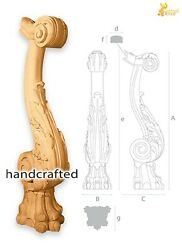 Architectural Exterior Newel Post For Stair Balustrade