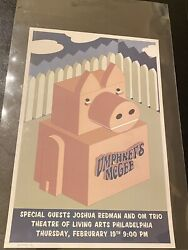 Umphrey's Mcgee Theatre Of Living Arts Philly 2004 Poster Vintage Only 25 Made