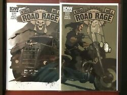 Road Rage 1,2 Idw, 2012 110 Variant Stephen King And Joe Hill Hbo Max