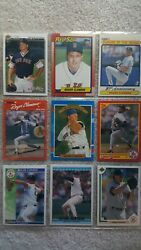 Variety Of Roger Clemens Early 90's Baseball Cards All 9 Cards Included