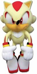 Sonic The Hedgehog Great Eastern Ge-52631 Super Shadow Plush 12 Inches Licensed