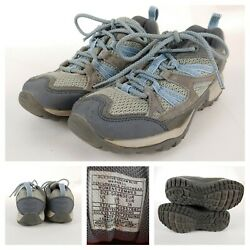 Merrell Womens Wild Dove/dream Blue Gray Lace Up Hiking Trail Shoes Sz 6m