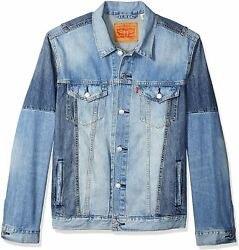 Leviand039s Menand039s Big And Tall Big And Tall Trucker Jacket