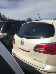 Trunk/decklid/tailgate Pearl White Buick Enclave 08 09 10 11 12 13 14 15 16 17