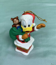 Grolier Collectibles 1994 Disney Christmas Donald Duck Chimney Ornament