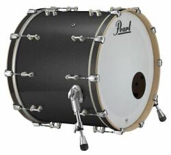Rfp2220bx/c425 Pearl Music City Custom Reference Pure 22x20 Bass Drum Charcoal