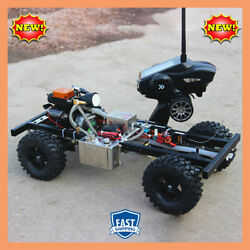 110 Diy Modified Gas Powered Rc Car Without Car Body Shell With Toyan Fs-s100g