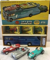 Corgi Gift Set16.ecurie Ecosse Transporter And Cars .excellent Correct Early Set .