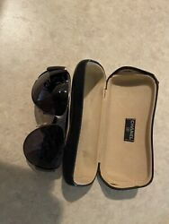 Authentic CHANEL Aviator Sunglasses with Case $275.00