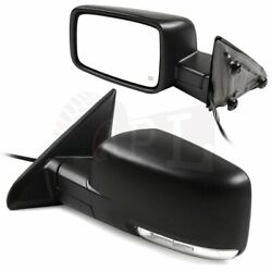 Power Heated Turn Signal Side Exterior Mirrors For 2009-2015 Dodge Ram Lh+rh